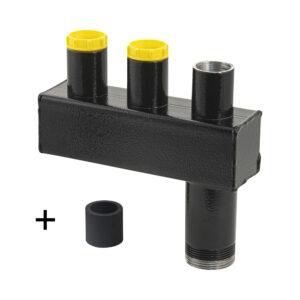 3-fach Verteiler 50 mm