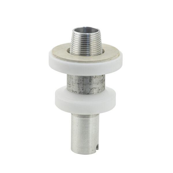 Alu Bitumenstutzen für 38 mm