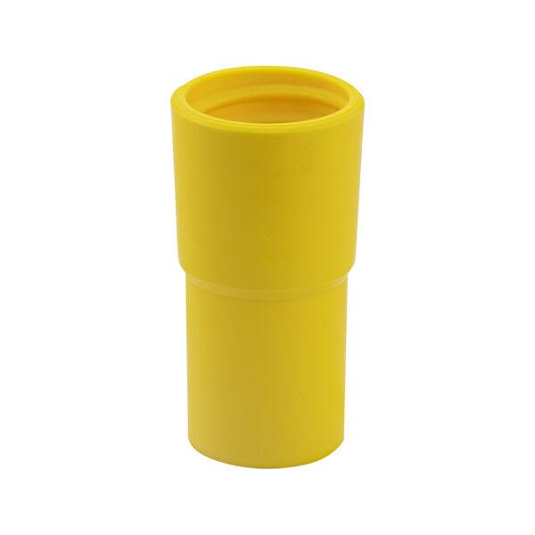 Schlauchstutzen Gelb mit Innengewinde