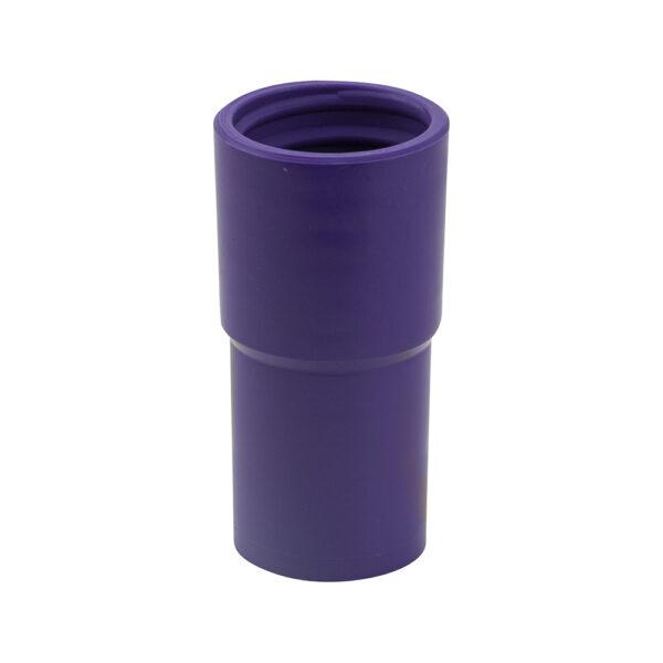 Schlauchstutzen Violett mit Innengewinde